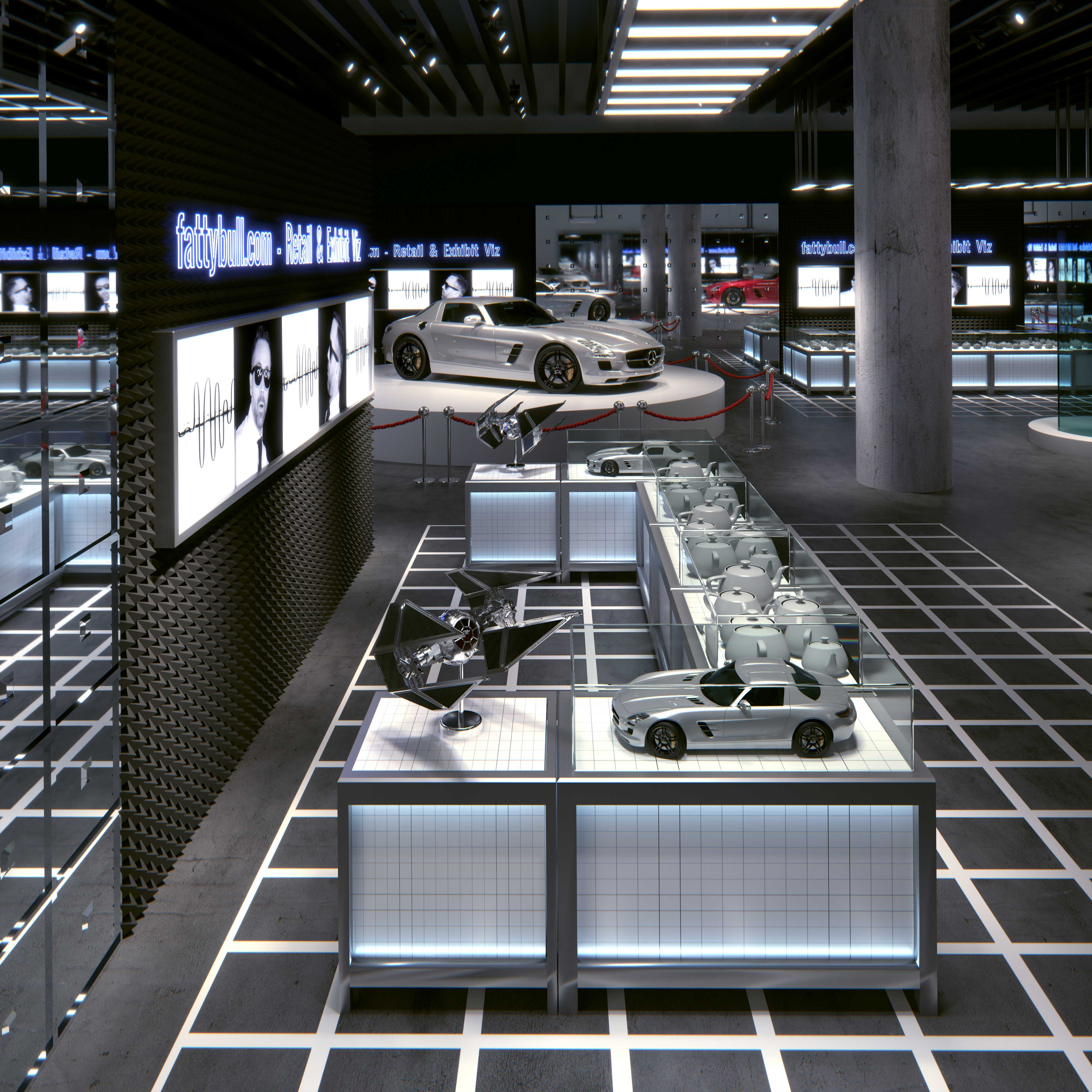 Exhibit Design & Retail Design Visualization