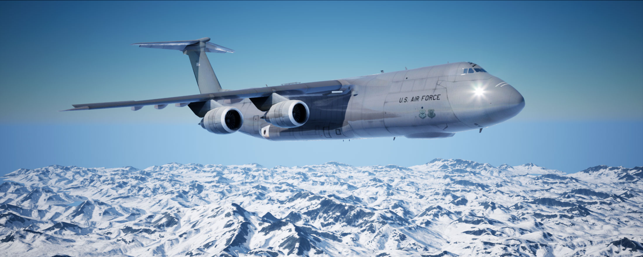 Boeing Air Force Real Time Render by Fattybull