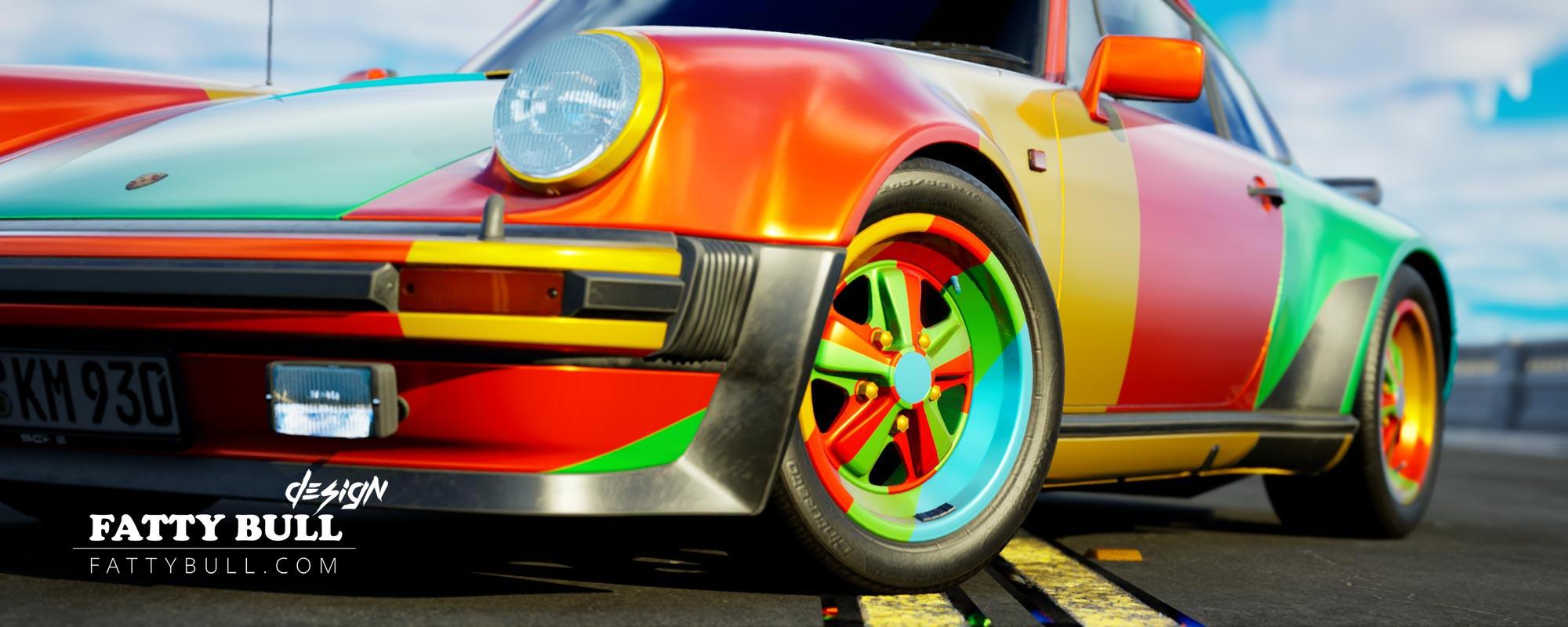 UE4 Porsche Rendering